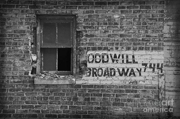 Photograph - Goodwill On Broadway by Terry Rowe