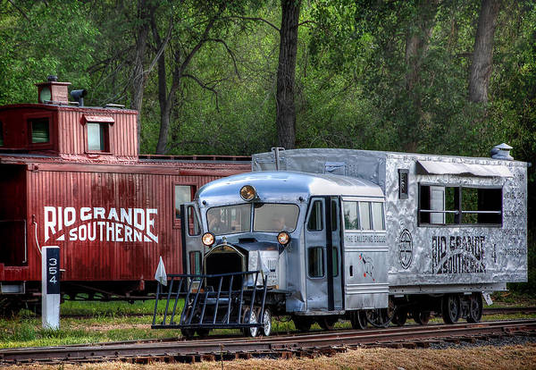 Wall Art - Photograph - Goose By The Caboose by Ken Smith