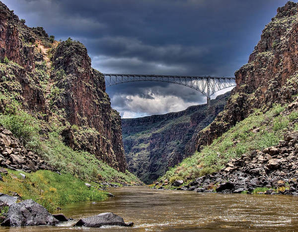 Photograph - Gorge Bridge by Britt Runyon