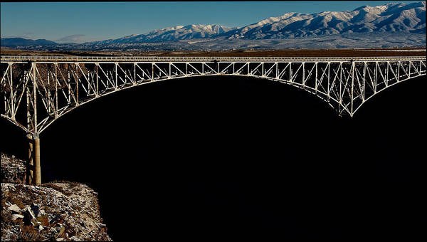 Photograph - Gorge Bridge Taos by Britt Runyon