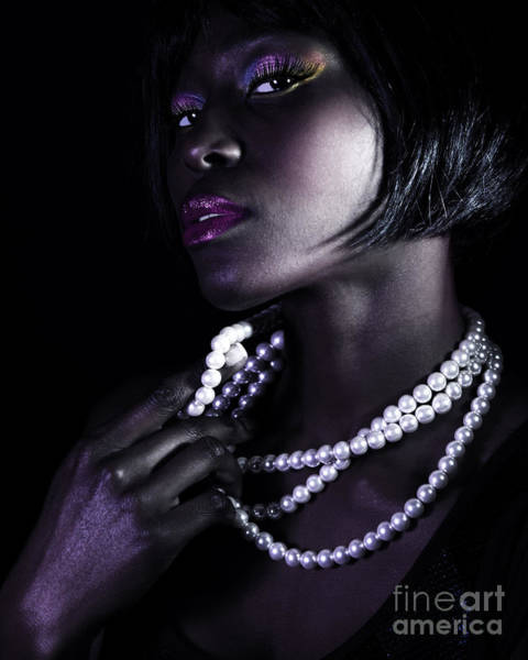 Supermodel Wall Art - Photograph - Gorgeous African Woman by Anna Om