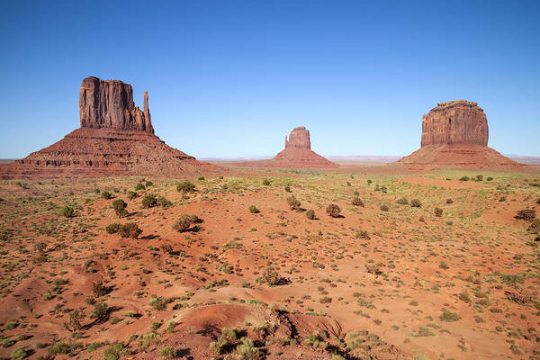 Crumbling Photograph - Gorgeous Monument Valley by Melanie Viola