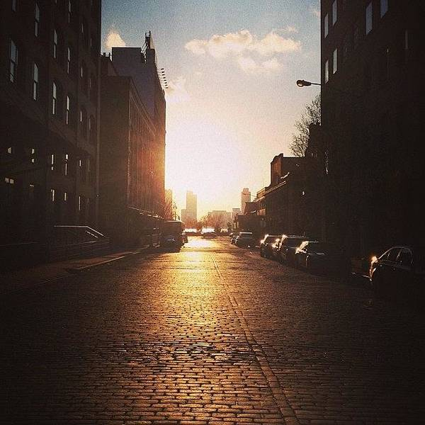 Wall Art - Photograph - Gorgeous #sunset In #nyc Earlier This by Vivienne Gucwa