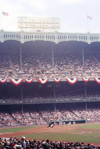 Wall Art - Photograph - Gorgeous View Of Old Yankee Stadium by Retro Images Archive