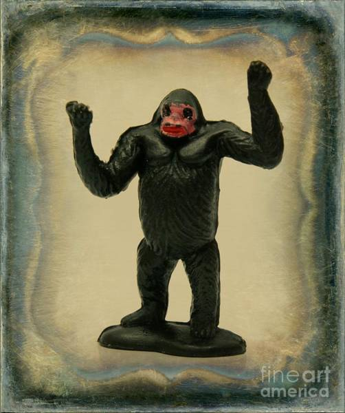 Wall Art - Photograph - Gorilla Figurine by Bernard Jaubert