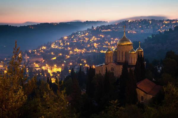 Jerusalem Photograph - Gorny Convent In Jerusalem by Ilan Shacham