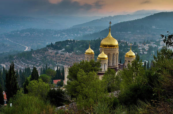 Jerusalem Photograph - Gorny Monastery by Ilan Shacham