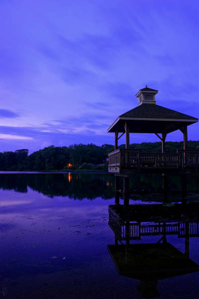 Photograph - Gorton Pond Rhode Island by Lourry Legarde