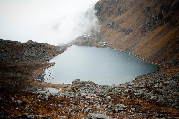 Wall Art - Photograph - Gosaikunda Lake Himalayas Nepal by Raimond Klavins