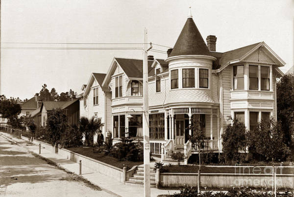 Photograph - Gosby House Pacific Grove California  Circa 1900 by California Views Archives Mr Pat Hathaway Archives