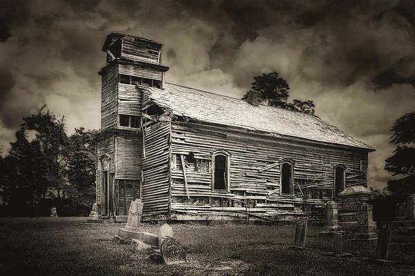 Wall Art - Photograph - Gospel Center Church I by Tom Mc Nemar