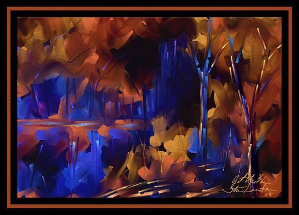 Wall Art - Painting - Got The Blues by Steven Lebron Langston