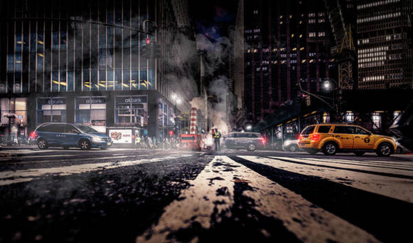 Times Square Photograph - Gotham - Breaking Dawn by Jackson Carvalho