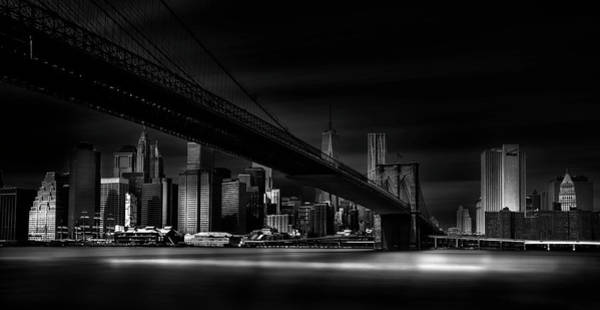 Attraction Photograph - Gotham City. by Peter Futo