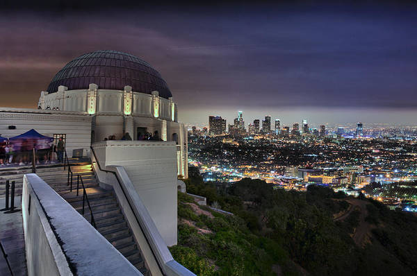 Photograph - Gotham Griffith Observatory by Scott Campbell