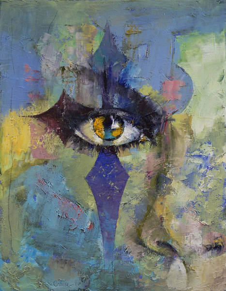 Oil Pastel Painting - Gothic Art by Michael Creese