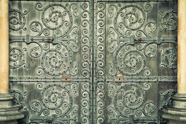 Gothic Arch Photograph - Gothic Doorway by Tom Gowanlock