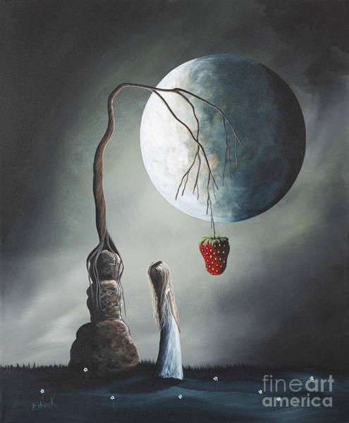 Faceless Painting - Gothic Fantasy Art By Shawna Erback So Tempting by Erback Art
