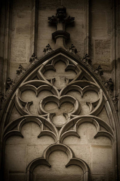 Photograph - Gothic Tracery by Maria Heyens
