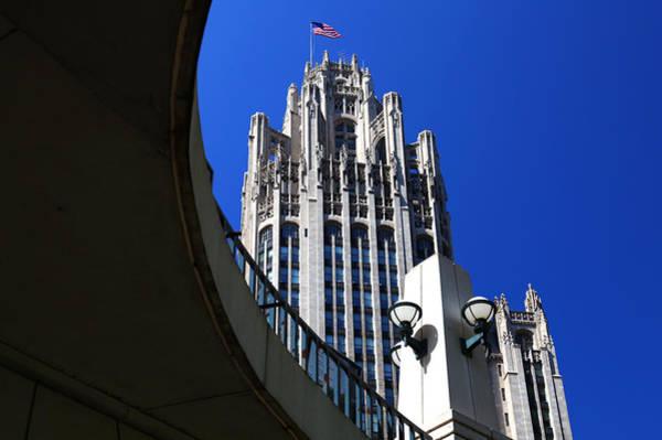 Photograph - Gothic Tribune Tower Curve by Patrick Malon