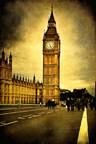 Photograph - Gothic Westminster - Big Ben by Mark Tisdale