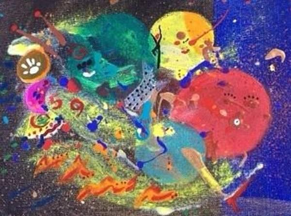 Deadline Painting - Gotta Make That Deadline     by Joie Goodkin