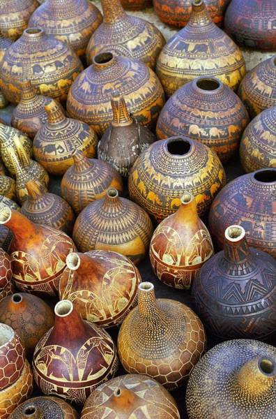 Photograph - Gourds In Kenya by Susie Rieple