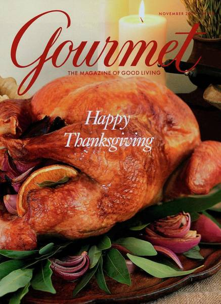 Meat Photograph - Gourmet Cover Featuring A Thanksgiving Turkey by Miki Duisterhof