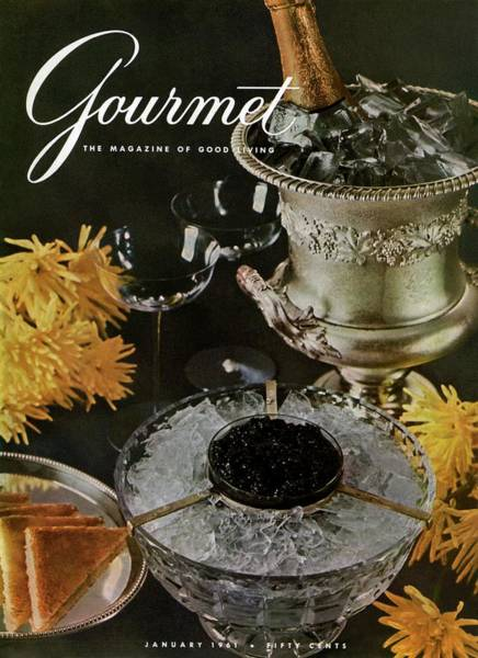 Wine Photograph - Gourmet Cover Featuring A Wine Cooler by Arthur Palmer