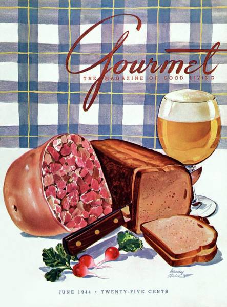 Bread Photograph - Gourmet Cover Featuring Bread by Henry Stahlhut