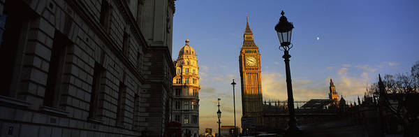 Houses Of Parliament Wall Art - Photograph - Government Building With A Clock Tower by Panoramic Images