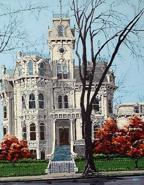 Governor's Mansion Art Print by Paul Guyer