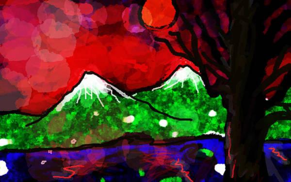 Painting - Hana Bi  by Paul Sutcliffe