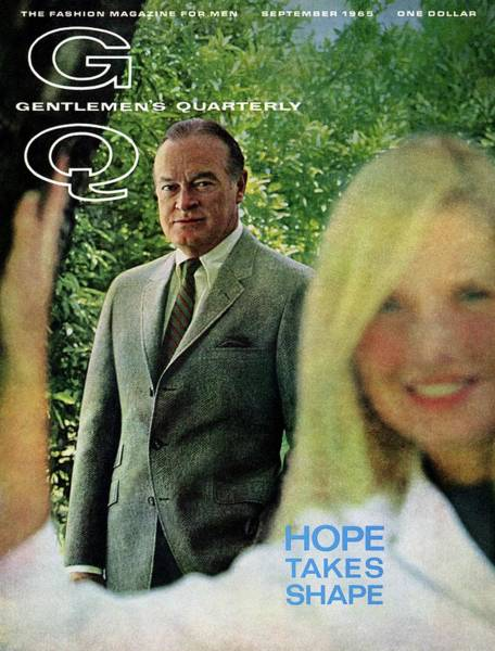 Photograph - Gq Cover Featuring Bob Hope by Richard Richards