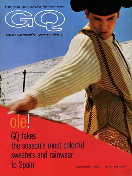 Matador Photograph - Gq Cover Of Spanish Matador by Chadwick Hall