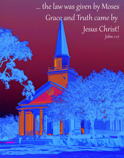 Photograph - Grace And Truth by Bill Barber