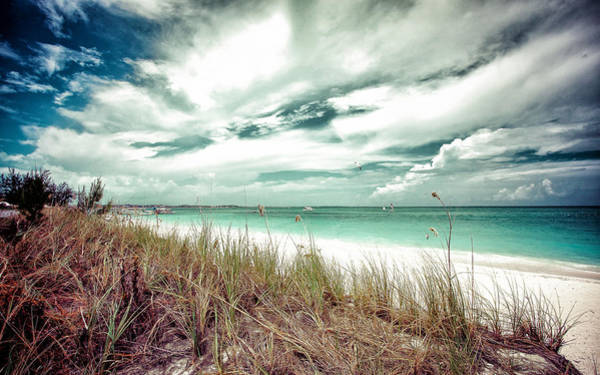 Photograph - Grace Bay by Maria Robinson