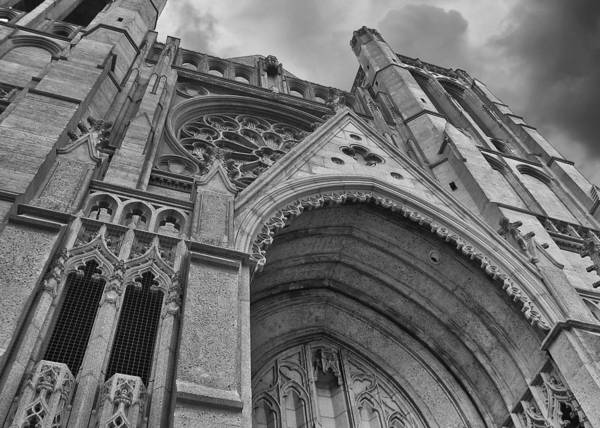 Photograph - Grace Cathedral by Guy Whiteley