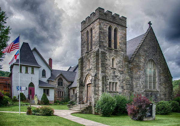 Photograph - Grace Episcopal by Guy Whiteley