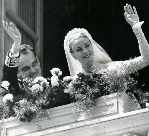 Golden Princess Photograph - Grace Kelly Waves by Retro Images Archive