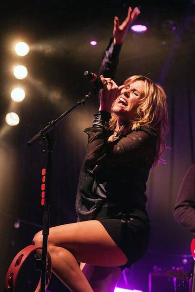 Auditorium Photograph - Grace Potter And The Nocturnals Live by Larry Hulst