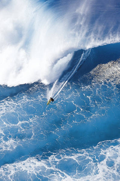 Big Waves Wall Art - Photograph - Grace Under Pressure by Sean Davey