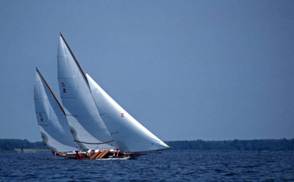 Sailing Terms Photograph - Grace Under Sail by Skip Willits