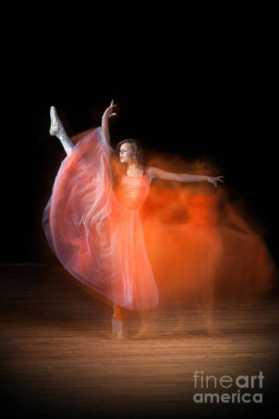 Photograph - Graceful Ballerina Spirit Dance by Cindy Singleton