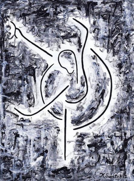 Graceful Painting - Graceful Swan by Kamil Swiatek