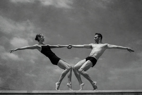 Acrobat Wall Art - Photograph - Grace&strenght 2.0 by Antonio Arcos Aka