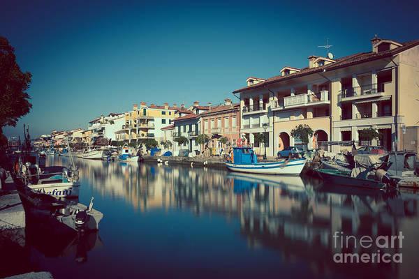 Photograph - Grado Harbor by Hannes Cmarits