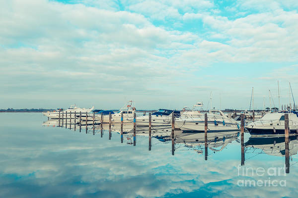 Photograph - Grado - Yacht Harbour by Hannes Cmarits