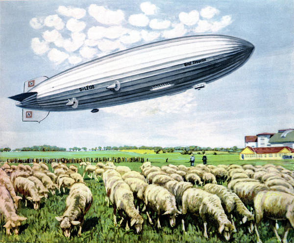 Graf Photograph - Graf Zeppelin II by Cci Archives