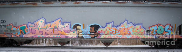 Wall Art - Photograph - Graffiti 5 by Ronald Grogan